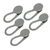 Button Pant Extender (gray) - package of 5