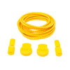 Yellow Stretch Elastic Shoelaces with Tension Lock