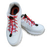 Red Shoelaces in Shoes