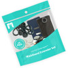25 Pack Button Extender Kit in Packaging