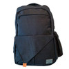GreaTravel Backpack Black from the front