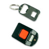D10 Seat Belt Keychain Seat Belt Buckle with Bottle Opener (uses adhesive pad rather than velcro)
