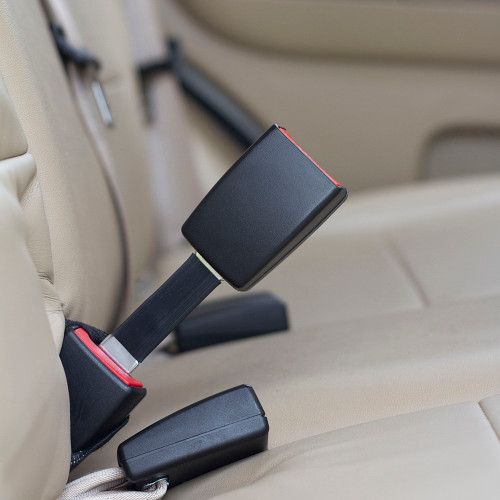 Seat Belt Extender for European 2016 Tesla Model S 2nd Row Middle Seats E4