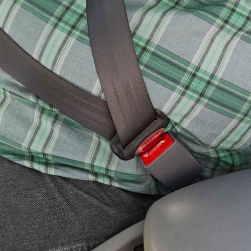 Subaru Seat Belt Extender In Use