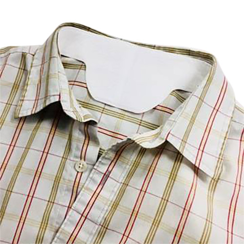 Collar liner in a shirt protecting it from sweat