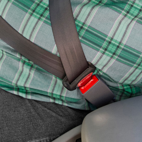 Genesis Seat Belt Extender In Use