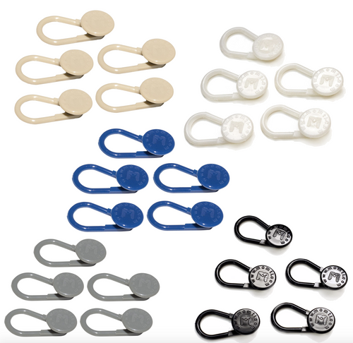 25-Pack Flexible TPU Button Pant Extender