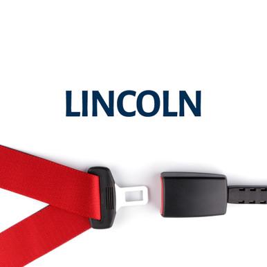 Lincoln Seatbelt Style Belt Buckle