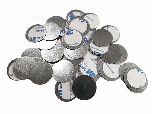 Sheet Metal Disks with Adhesive