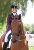 Kristina Harrison with Arlo sporting the Swarovski Silver Design