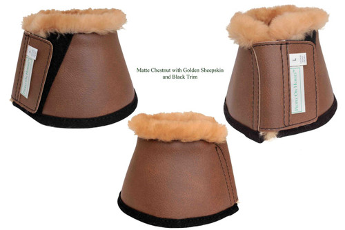 Sheepskin Lined Bell Boots (Pair)