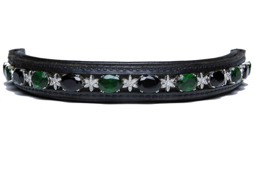 Browband Fresian Emerald Design