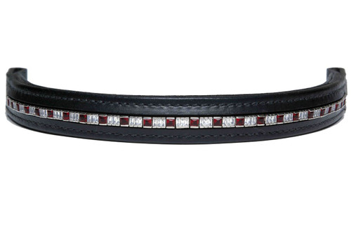 Browband Squared Squared Red Design