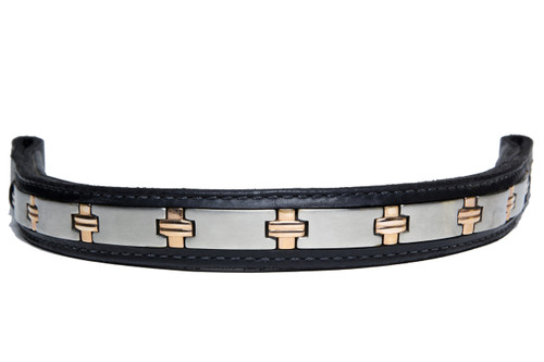 Browband Stainless Steel Copper Design