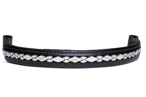 Browband Stainless Steel Diamond Design