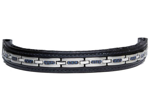 Browband Stainless Steel Sapphire Design