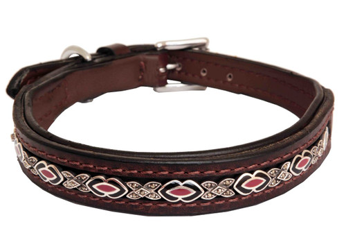 Dog Collar Large Madison Bayberry Design