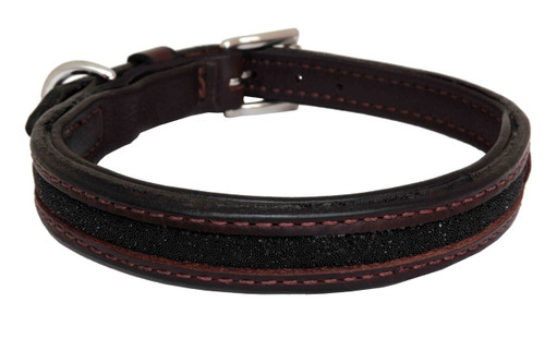 Dog Collar Medium Swarovski Black Design