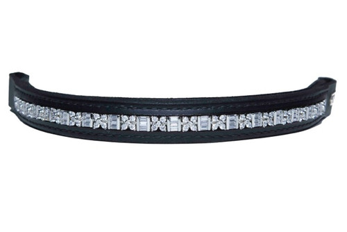 Browband Aztec Clear Design
