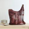 Keri Front Pocket Crossbody Bag, Dark Brown