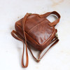 Dixie Leather Crossbody Shoulder Bag, Tan