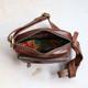 Maisie Leather Zip Pocket Bag, Distressed Brown