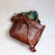 Pippa Leather Crossbody Bag, Tan
