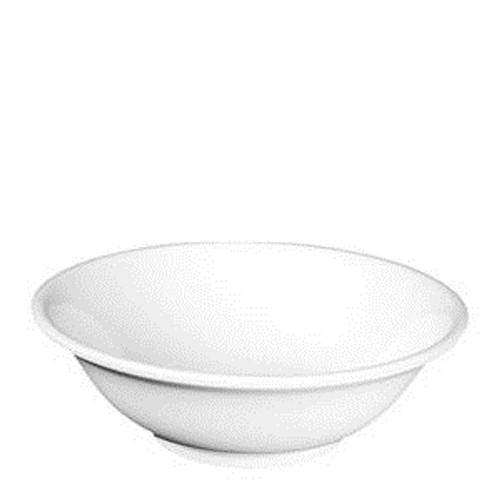 """Nustone White Bowl Rimless 8 3/4"""""""