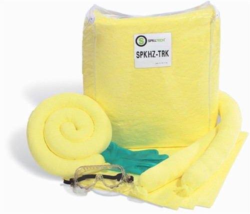 Trucker HazMat Chemical Absorbent  Spill Kit
