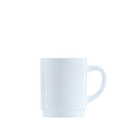 Arcoroc Restaurant White Stacking Mug 10 oz