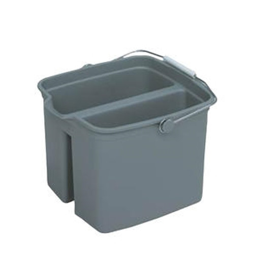 Huskee Bucket Divided Grey 16 qt