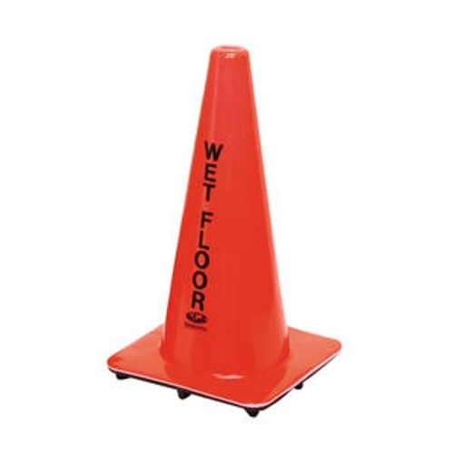 """Wet Floor"" Cone Orange"