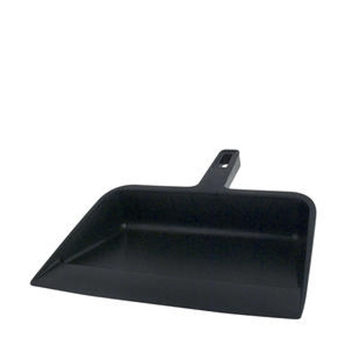 Dust Pan Black 12""