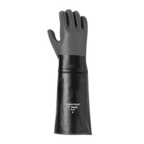 "Thermaprene Glove Hi Temp Black 18"""
