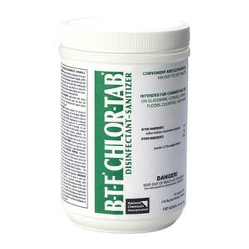 BTF Chlor-Tab Disinfectant-Sanitizer