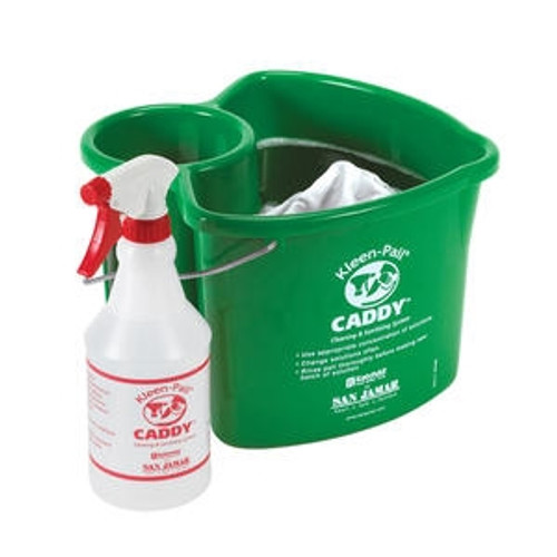 Kleen-Pail Caddy Green 4 qt