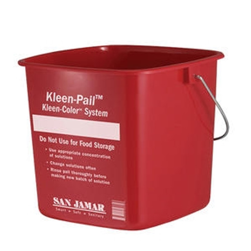 Kleen-Pail Red 10 qt