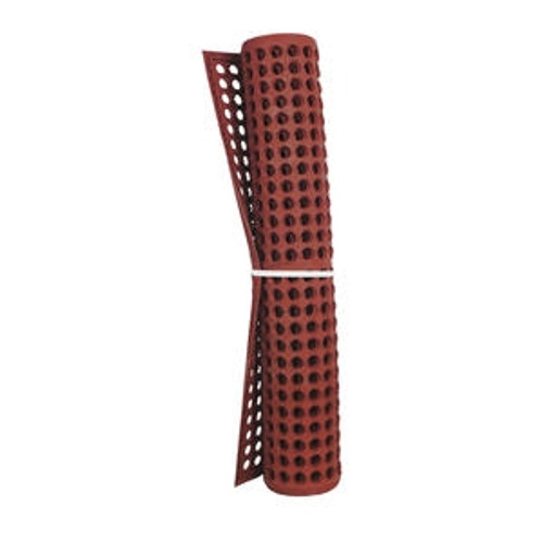 Anti-Fatigue Mat Economy Red Rolled  3' x 5' x 1/2""