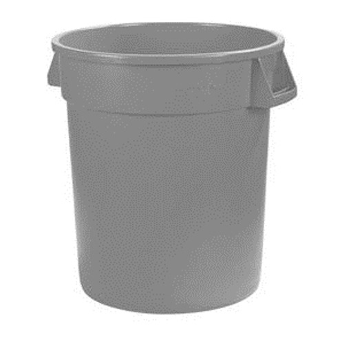 Bronco Waste Container Gray 10 gal