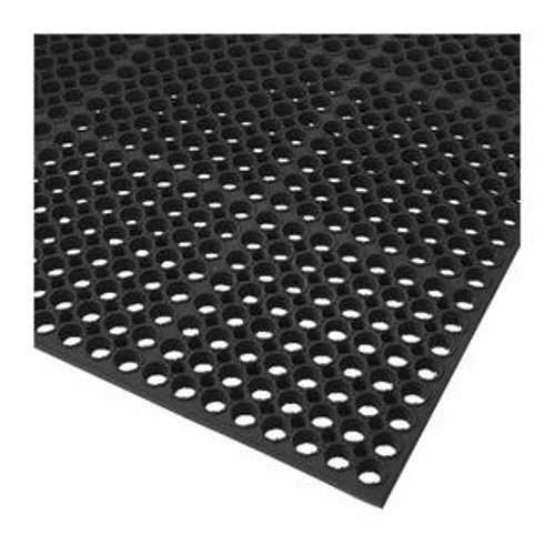 "Anti-Fatigue Mat Economy Black 3' x 5' 1/2"""