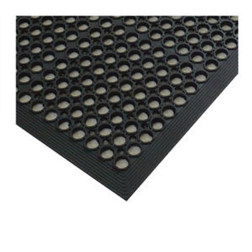 Anti-Fatigue Mat Economy Black Rolled 3' x 5' x 3/8""