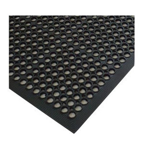 Anti-Fatigue Mat Economy Black 3' x 5' x 3/8""