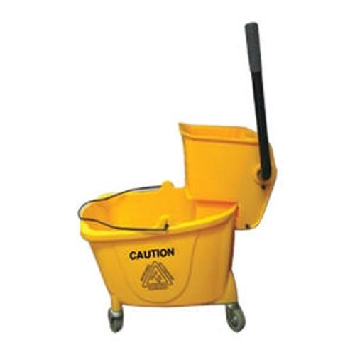 Value Plus Bucket/Wringer Combo Side Press Yellow 26-35 qt