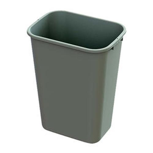 Value Plus Wastebasket Beige 41 qt