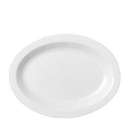 """Camwear Platter Oval White 9"""" x 12"""""""