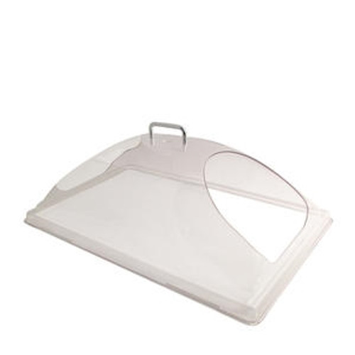 """Camwear Display Cover Dome with 2 End Cutouts Clear 12"""" x 20"""""""