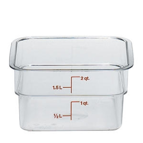 CamSquare Container Clear 2 qt