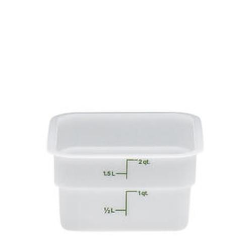 CamSquare Container White 2 qt