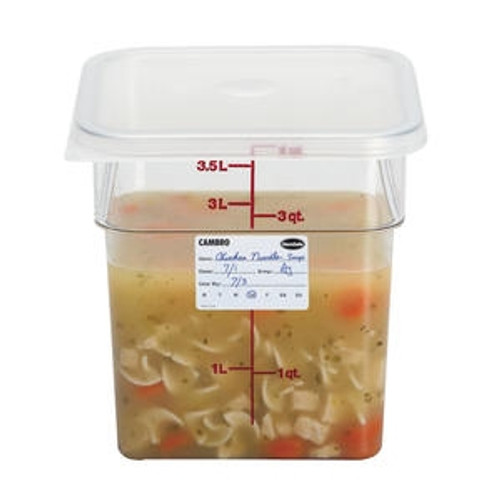 CamSquare Container Clear 4 qt