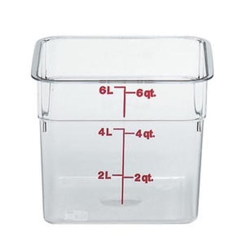 CamSquare Container Clear 6 qt